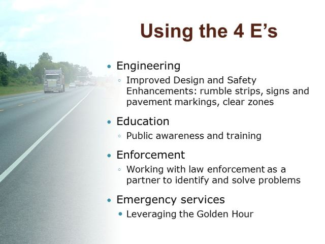 Using+the+4+E_s+Engineering+Education+Enforcement+Emergency+services